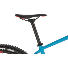 Cube Reaction Hybrid EXC 500 E-mountainbike blå